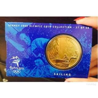 🎉Sydney 2000 Olympic Coin Collection - 17 of 28 Sailing ⛵️