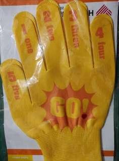 Docomo 1,2,3,4,5 Go!! Gloves Japan