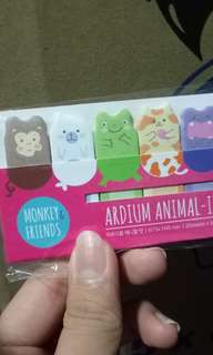 Wts animal memo from korea!!