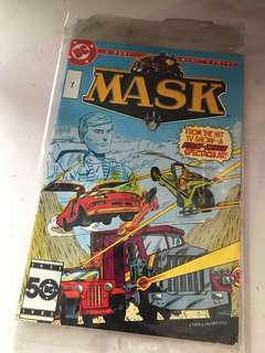 MASK comic first issue #1