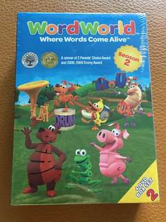 (New) Word World (set of 4 DVDs)