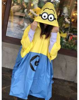 Minion raincoat