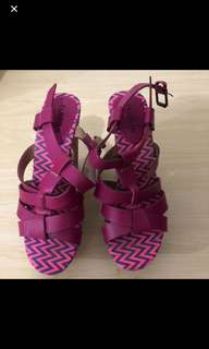 Parisian Cork Sandals (used once)