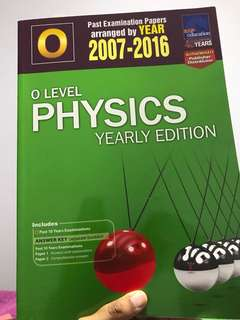 O Level Physics tys