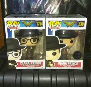 (ON HAND) Wonder Woman Diana Prince  Exclusives DC Funko Pop Bundle