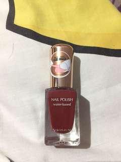 miniso water based nail polish