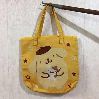 布甸狗單肩布袋 景品 Pompompurin bag