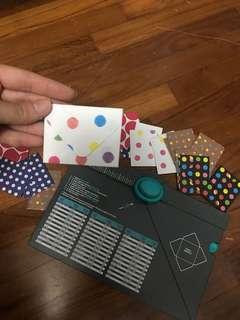 🚚 Envelope Punch Board