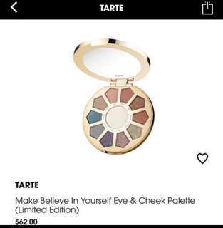 (-50%) Tarte make believe in yourself limited edition palette