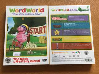 (New) Word World The Race to Mystery Island DVD