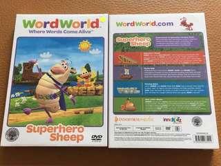 (New) Word World Superhero Sheep DVD
