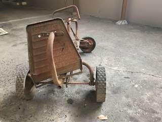 vintage go cart