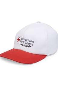 Off-White Red Cross Cap