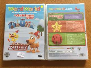 (New) Word World A Christmas Star DVD