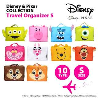 🌸日本Disney迪士尼旅行衣物收納袋  Japan Disney Disney Travel Clothing Storage Bag