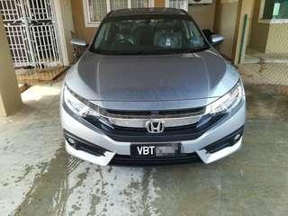 Honda Civic FC 1.5 TCP Turbo
