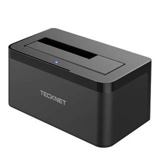 1196. TeckNet USB 3.0 Hard Drives Docking Station