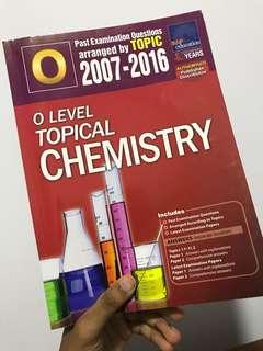 O Level chem TYS