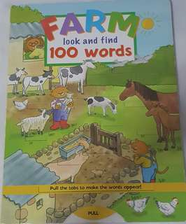 Pull out Vocabulary picture books