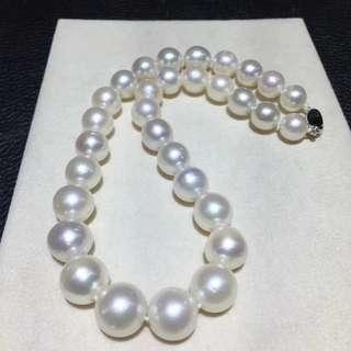 *大特賣* 澳洲南洋白珠項鍊 11.8- 16.7mm
