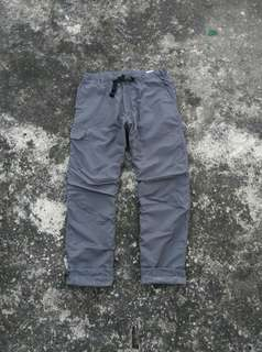 CELANA WARM LINING OUTDOOR UNIQLO CHARCOAL