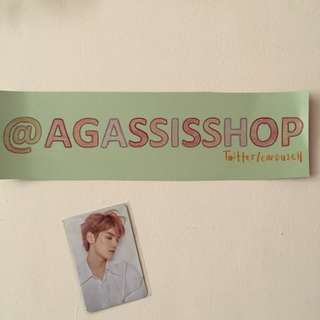 NCT 2018 Spring Fan Party Photocard - Taeyong