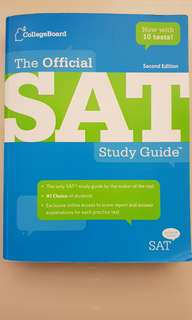Official SAT Study Guide (Second Edition)