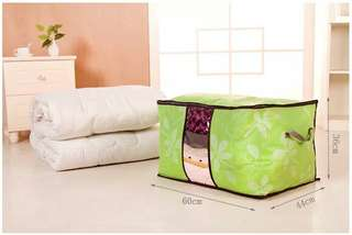 Storage bag flower Jumbo warna hijau