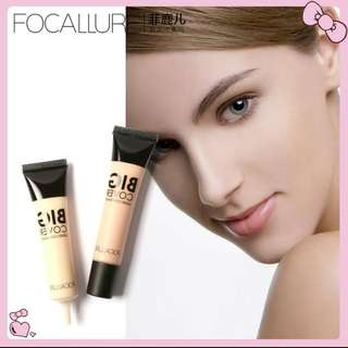 ORI Focallure 4 warna face foundation liquid contour concealer