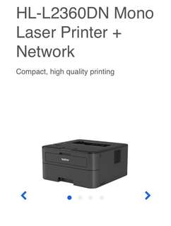Brother HL-L2360DN Laser Printer