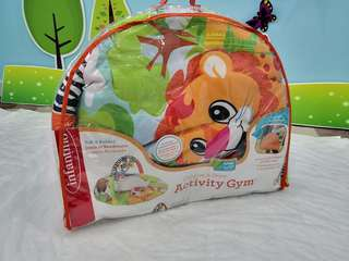 Infantino baby playmat explore and go Safari animals