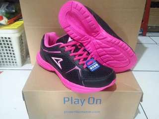 Sepatu Original Power Running (W) Lite Blythe Black Pink