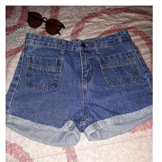 Highwaist Shortpants
