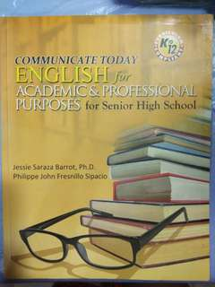English for Academic and Purposes for Senior High school