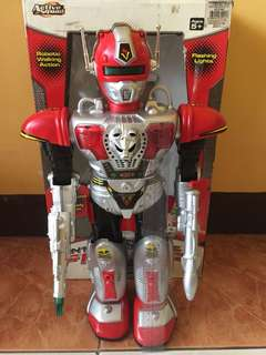 Robot (With sound. Walking. Battery operated. Working. Flaws on the right shoulder.) #MAKATISWAP