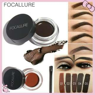 ORI Focallure eye brow gel tint eye brow gel tint brush