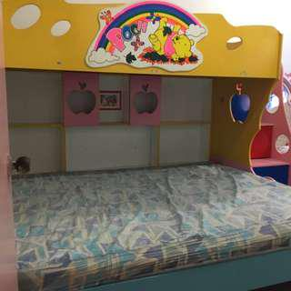 Winnie The Pooh Double Decker bed