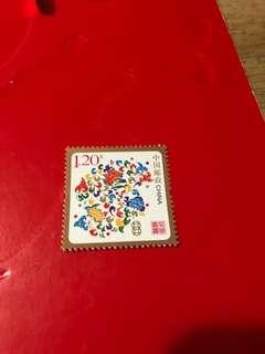 中國郵票2008年
