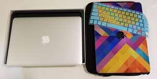 🚚 客製2015款 Macbook Air 13吋 4G/256G 功能正常9成新 盒裝完整 筆電包保護殼