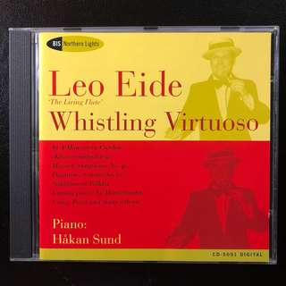 Leo Eide Whistling Virtuoso [BIS Records] RARE and Out-of-Print