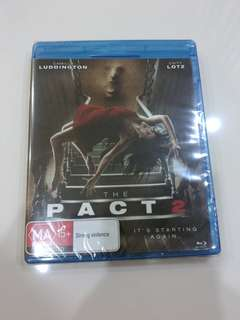 Brand New Blu Ray (Title:The Pact 2)