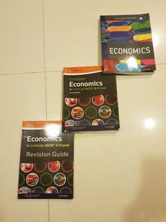 Economics Textbooks for IBDP Diploma IGCSE O LEVEL