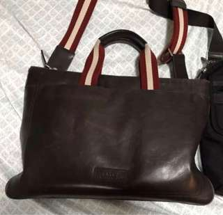 BALLY Laptop bag not LV, GUCCI