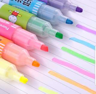 Miffy Scented Highlighter (5pcs - Mixed colours)