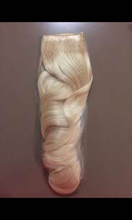 Clip In Hair Extensions BLONDE