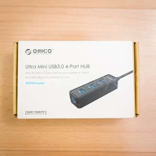 🚚 Orico 4-Port USB 3.0 Portable Superspeed Hub