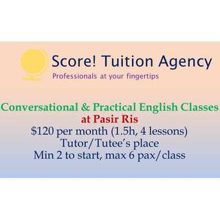 🚚 Practical English Lessons for Beginners: Group Tuition @ Pasir Ris!