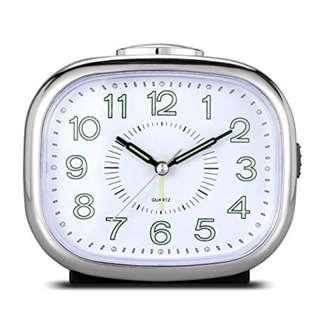 400 Non Ticking Desk Bedside Alarm Clock