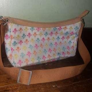 💯Original Patrick Cox canvass sling bag