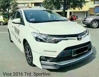 TRD Sportivo Vios full bodykit